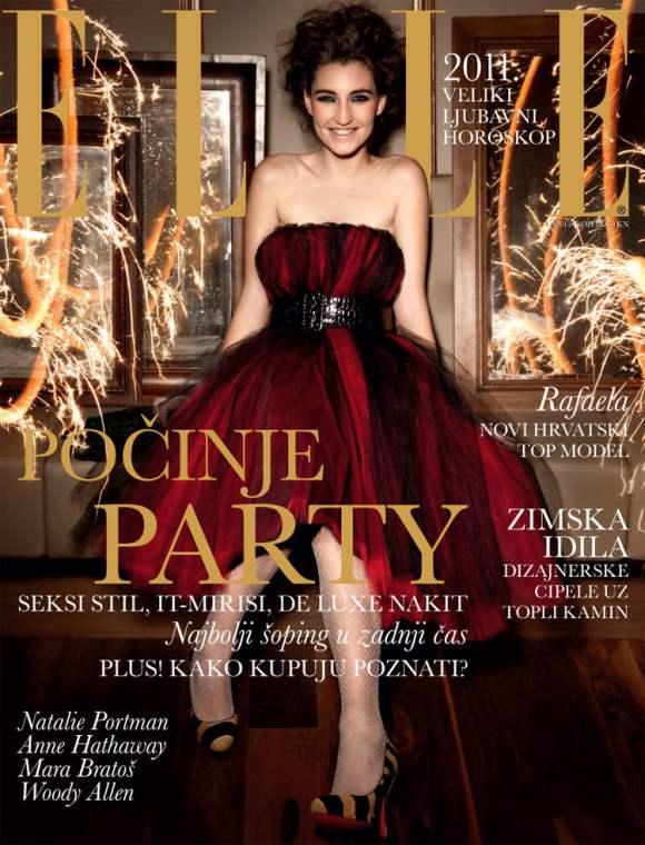 Rafaela Franic Elle Croatia January 2011