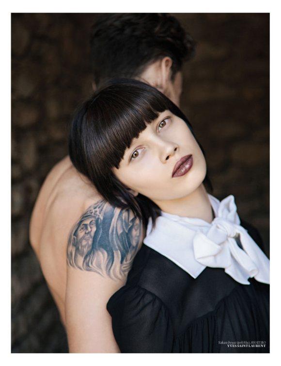 Ranya Mordanova  Vogue Turkey January 2011 1