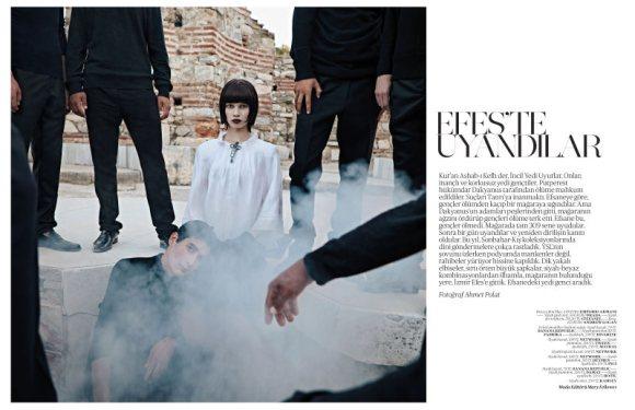Ranya Mordanova  Vogue Turkey January 2011 2