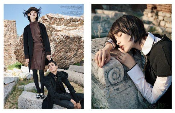 Ranya Mordanova  Vogue Turkey January 2011 3