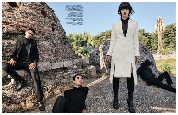 Ranya Mordanova  Vogue Turkey January 2011 4