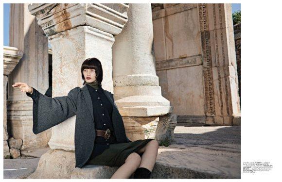 Ranya Mordanova  Vogue Turkey January 2011 5