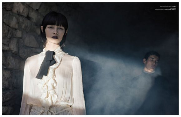 Ranya Mordanova  Vogue Turkey January 2011 9