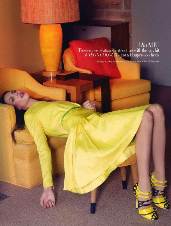 Ruby Aldridge Harpers Bazaar UK February 2011 1