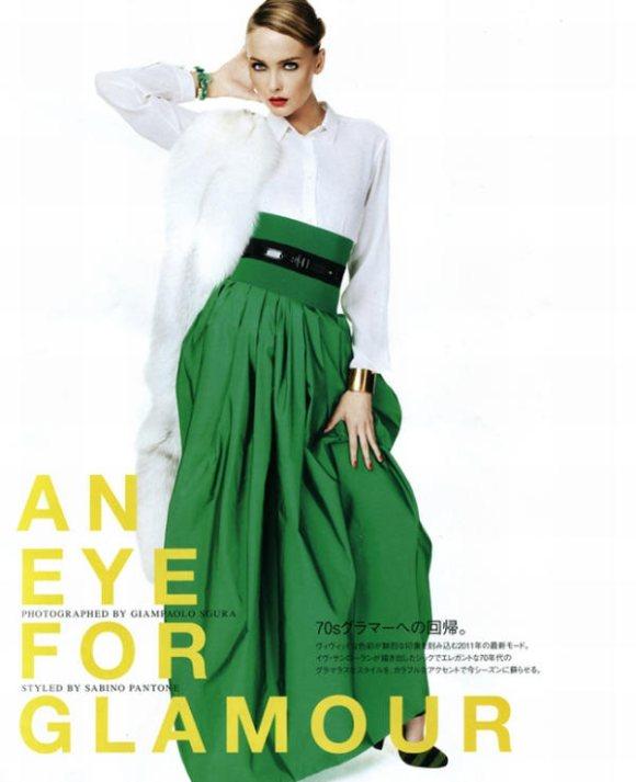 Snejana Onpka Vogue Nippon February 2011 1