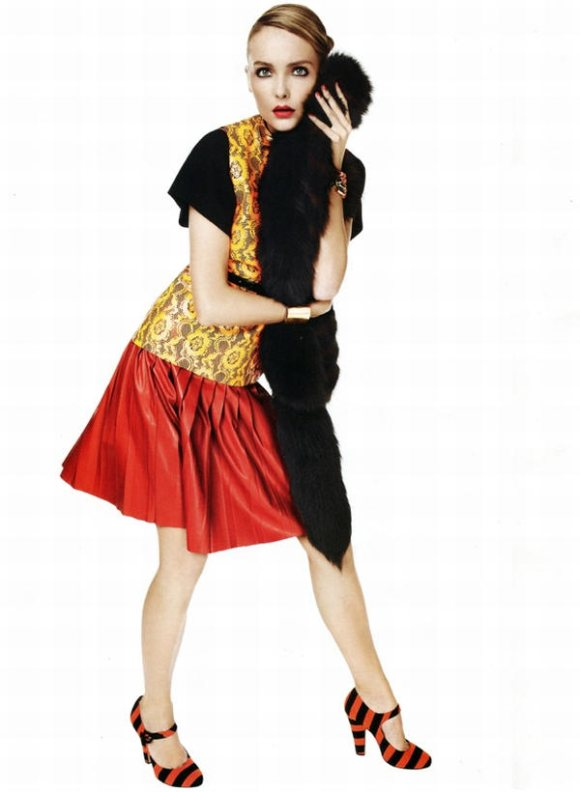 Snejana Onpka Vogue Nippon February 2011 3