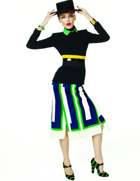 Snejana Onpka Vogue Nippon February 2011 5