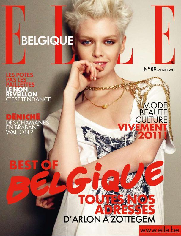 Stella Maxwell Elle Belgique January 2011