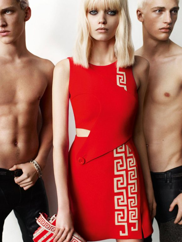 Versace Spring 2011 Campaign 1