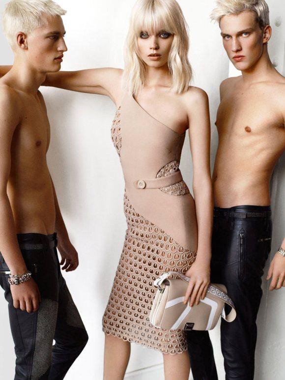 Versace Spring 2011 Campaign 10