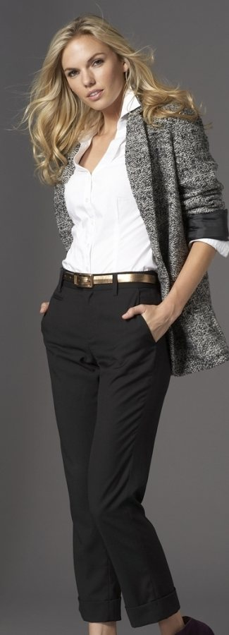 capri-crop pant formal ocassion