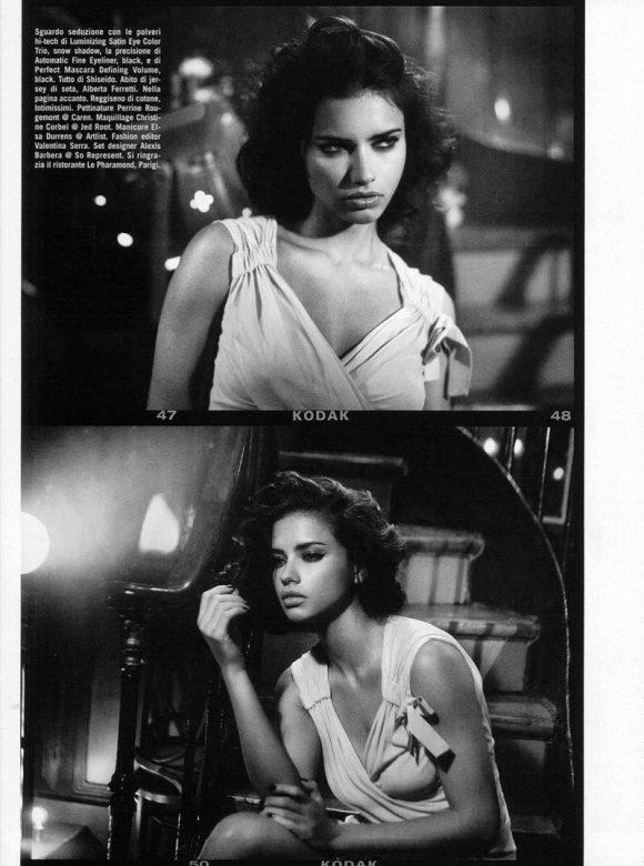 Adriana Lima Vogue Italia February 2011 3