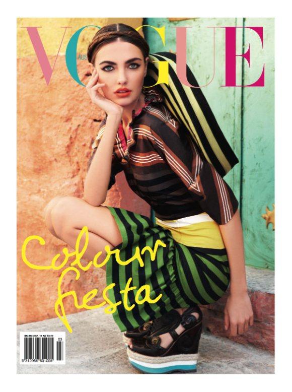 Alina Baikov Vogue Australia March 2011
