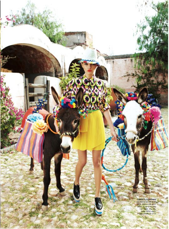 Alina Baikova Vogue Australia March 2011 10