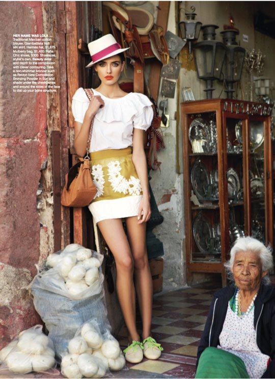 Alina Baikova Vogue Australia March 2011 12