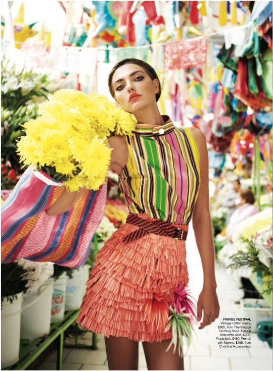 Alina Baikova Vogue Australia March 2011 14