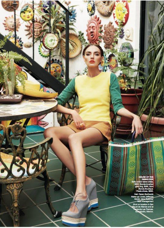Alina Baikova Vogue Australia March 2011 17