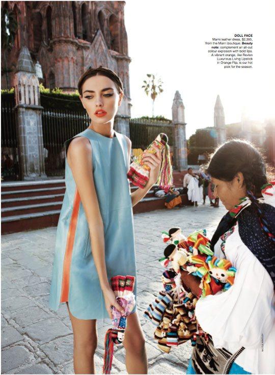 Alina Baikova Vogue Australia March 2011 2