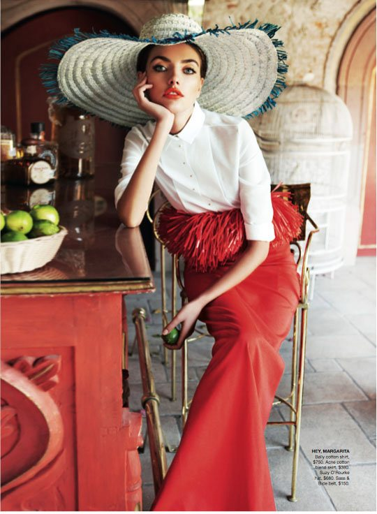 Alina Baikova Vogue Australia March 2011 3