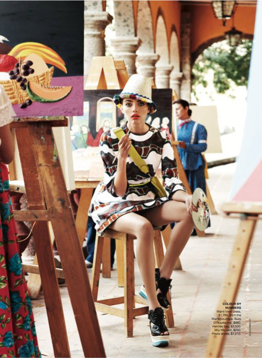 Alina Baikova Vogue Australia March 2011 4