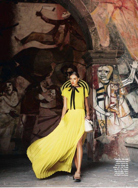 Alina Baikova Vogue Australia March 2011 5