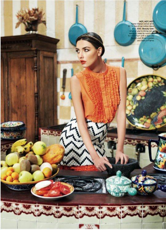 Alina Baikova Vogue Australia March 2011 7