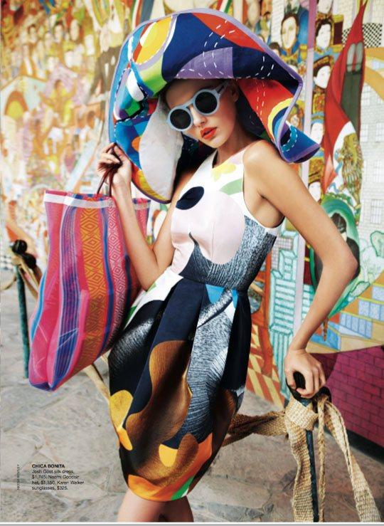 Alina Baikova Vogue Australia March 2011 8