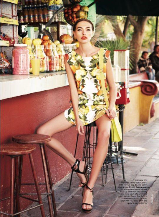 Alina Baikova Vogue Australia March 2011 9