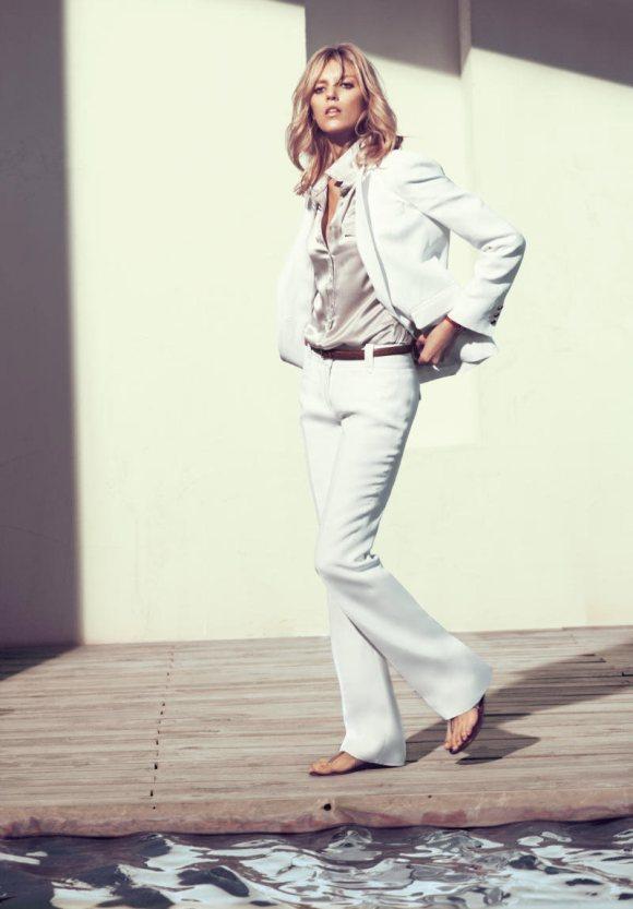 Anja Rubik Massimo Dutti S s 2011 Campaign 8