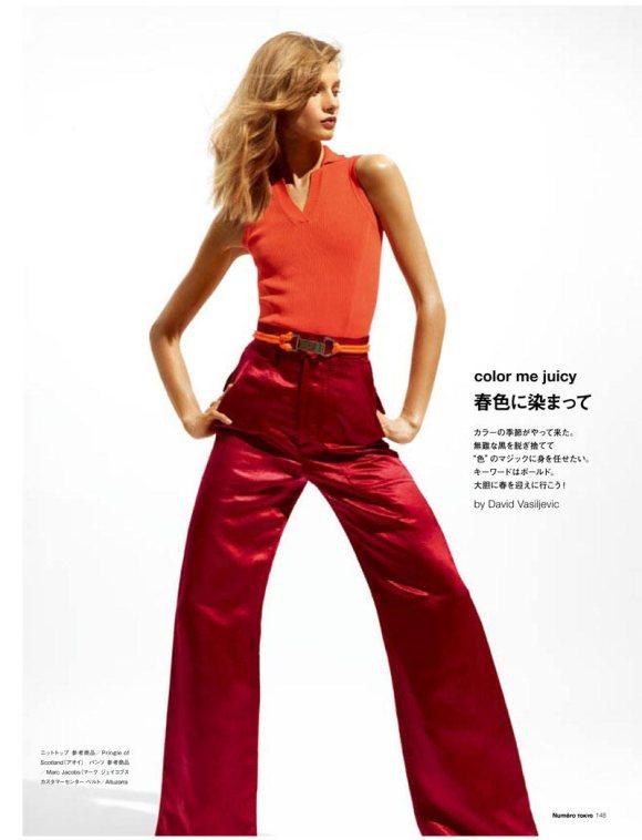 Anna Selezneva Numero Tokyo March 2011 7