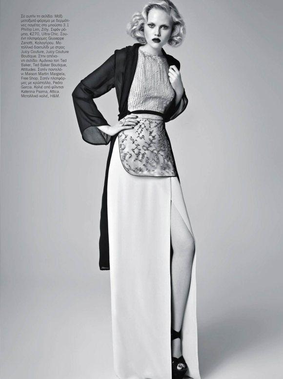 Anne Sophie Monrad Vogue Hellas February 2011 9