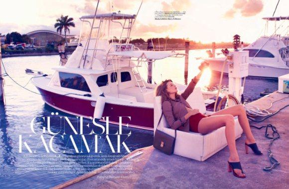 Behati Prinsloo Vogue Turkey 2