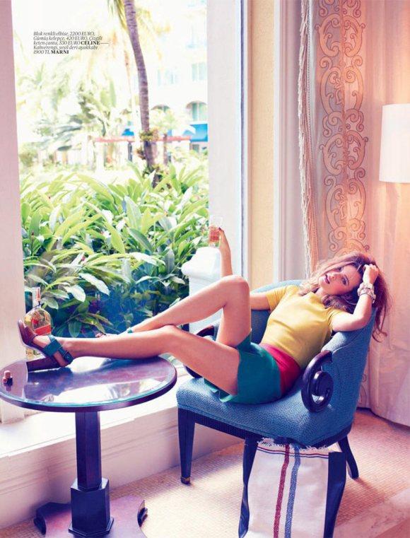Behati Prinsloo Vogue Turkey 4