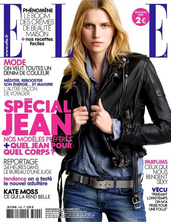 Cato van Ee Elle France February 2011