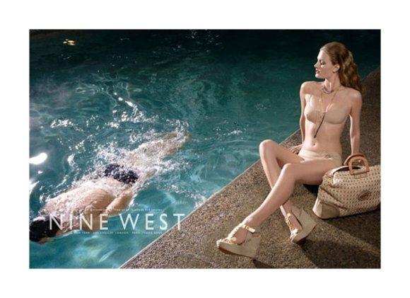 Constance Jablonski Nine West Spring 2011 Campaign 2