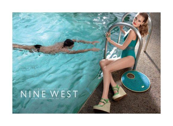 Constance Jablonski Nine West Spring 2011 Campaign 4