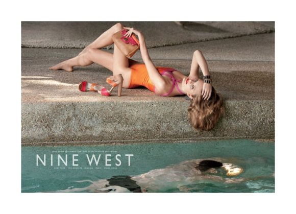 Constance Jablonski Nine West Spring 2011 Campaign 5