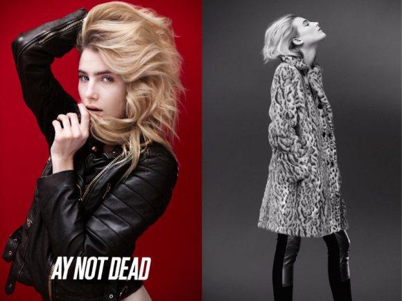 Dree Hemingway AY Not Dead Fall 2011 Campaign 1