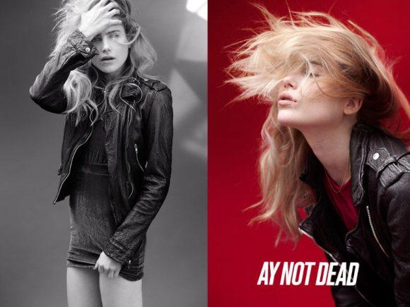 Dree Hemingway AY Not Dead Fall 2011 Campaign 2