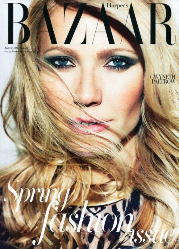 Gwyneth Paltrow Harpers Bazaar UK March 2011