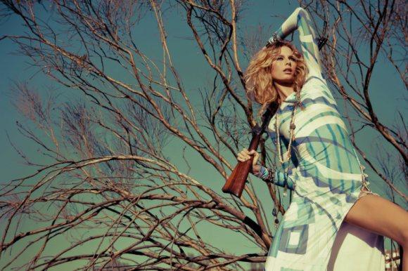 Hana Soukupova Elle Spain March 2011 2