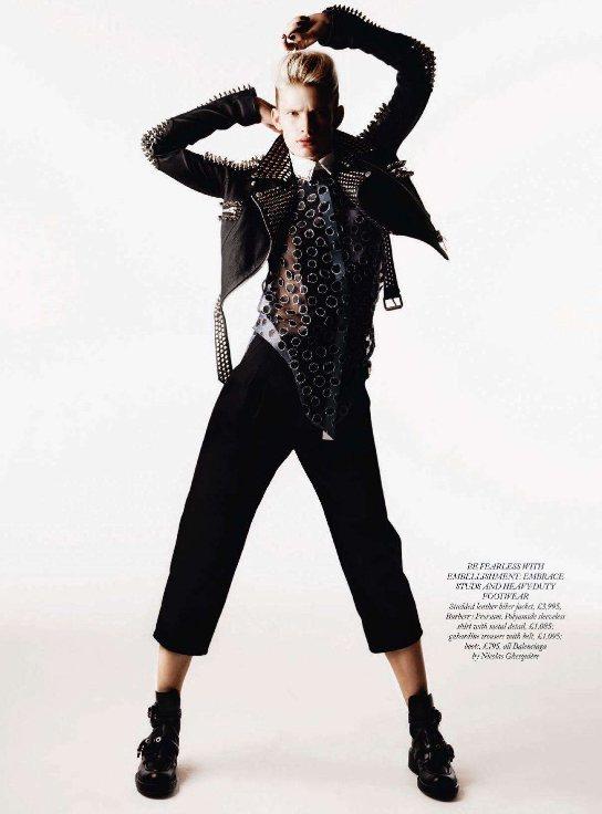 Ilse de Boer for Harpers Bazaar UK March 2011 6