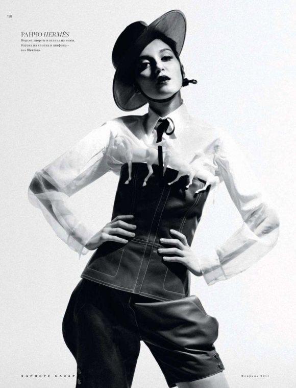 Irina Annabelle Xiao Harpers Bazaar Russia 17