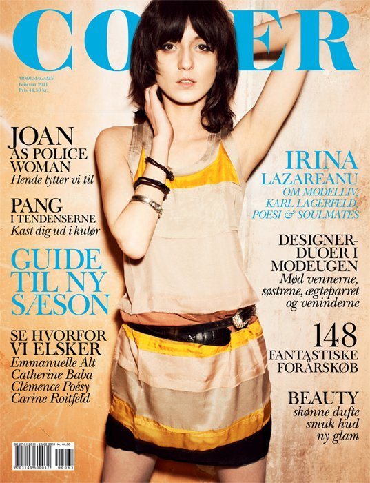 Irina Lazareanu Cover Denmark February 2011