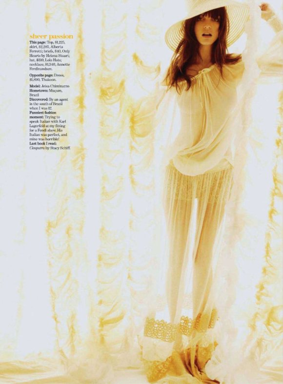 Jeisa Chiminazzo Marie Claire US March 2011 5