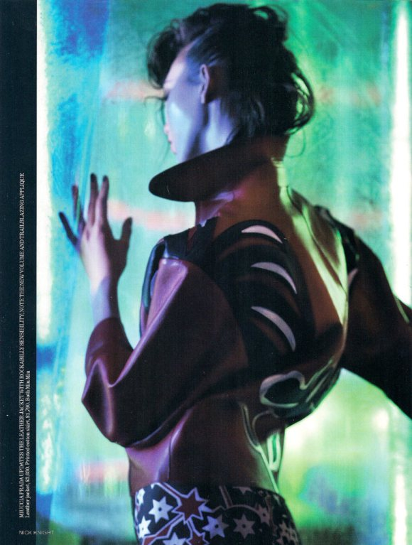 Joan Smalls Karlie Kloss Vogue UK March 2011 7