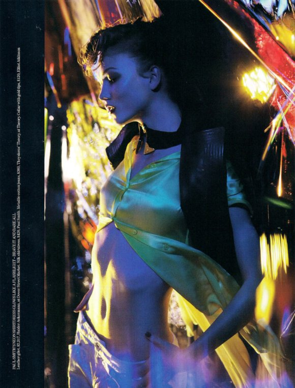 Joan Smalls Karlie Kloss Vogue UK March 2011 9