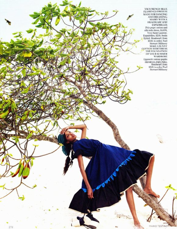 Jourdan Dunn Karmen Pedaru Vogue UK March 2011 10