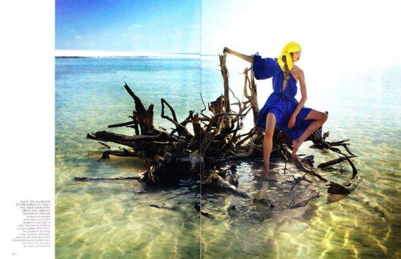 Jourdan Dunn Karmen Pedaru Vogue UK March 2011 12