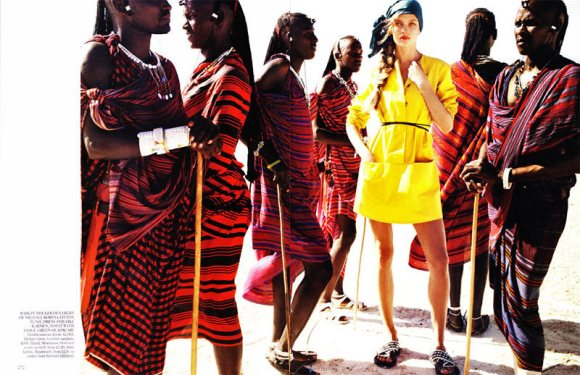 Jourdan Dunn Karmen Pedaru Vogue UK March 2011 6